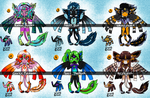 Enqua Chibi Batch 3 [3/6 OPEN / $5/500pts] by CalimonGraal