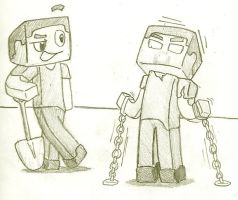 Trapping Herobrine by Trace-101
