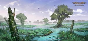 Peaceful Swamp by Nele-Diel