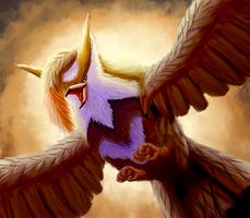 In Flight by LadyTomatoes
