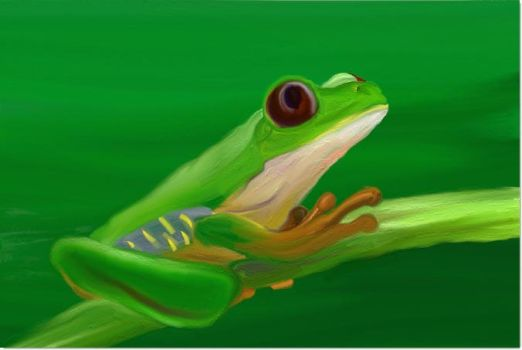 Froggy by d00mg1rl