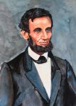 Lincoln 1st official portrait as President by TJKruse