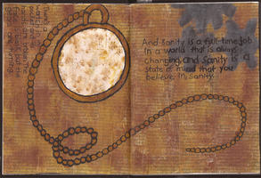 Art Journal: Entry #2 - Sanity by Greenpolarbear47