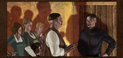 Joan of Light and D'Arc   Page 13 Panel 5 by Duncan-Eagleson