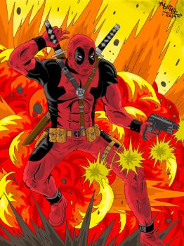 Explosive Deadpool! by FearsomeA