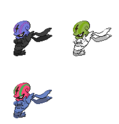 Accelgor Sprite Recolors #1 by YellowCoolPokemonMan