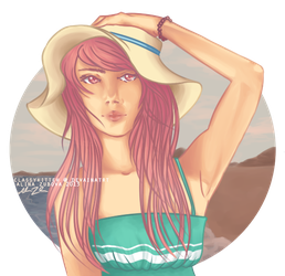 feels like summer by ClassyKitteh