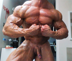Mattia Vecchi Roided Dick Out by roidedmusclefan