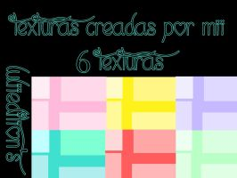 Pack de 6 texturas by LuliiEdition