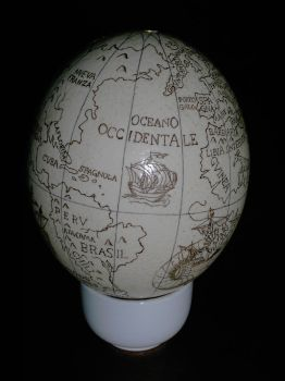 The Knies Globe - Oceanus occidentale by Panthaleon