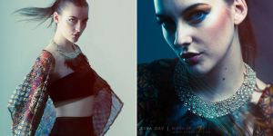 A Hint of Blue by DinaDayMakeup