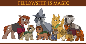 Fellowship Is Magic by Mazepony