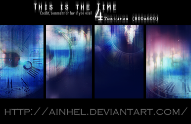 #1 Texture Pack - This is the Time by Ainhel