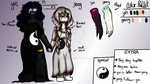 [Reference Sheet] Yin and Yang Twins by Herobette