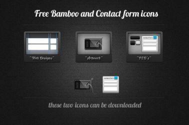 Bamboo and Contact from icons by secretSWC