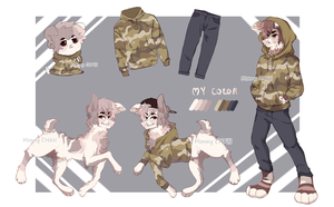 Canine Soldier Design AUCTION [CLOSED] by monnychanArt