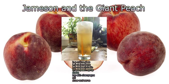 Jameson and the Giant Peach by Van-Dunkelschreiber