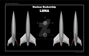 Nuclear Rocketship LUNA Ortho by dragonpyper