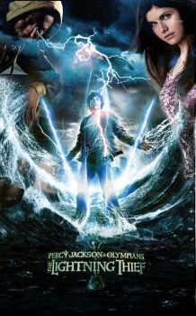 Percy Jackson Fan Made Poster by LeShary