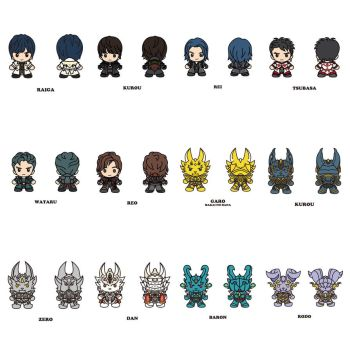 Garo Series Characters In Their Chibi Forms by RaphaelFernandez2001