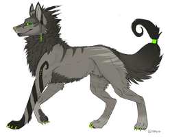 Wolf Adoptable #2 (Closed) by Akirow