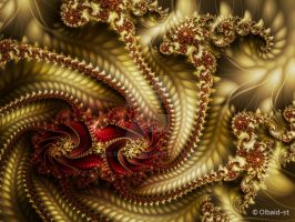 Mandelbrot 61  - Something to keep in mind - by Olbaid-ST