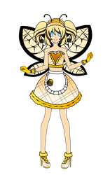 Cafe Mew: Bee Sweet -open adopt- by PastelPeacockAdopts