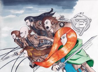 EPICA vs Attack On Titan by Sharonliv-Arzets