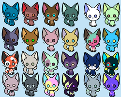 Cats adopts -Open- by Alexawesomations