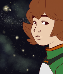Pidge's Night Sky Version 2 by Dontgiveafvck