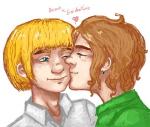 Armin and me by GoldenYume