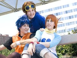 Digimon Tamers: Laughter by xYaminogamex