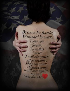 PTSD Awareness -Army Wives by Jenspaztic
