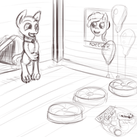 Sandy and the MoM Partyhouse Misadventure 2 by Retl