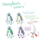 Honeydew's Colors by hummingturd
