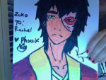 Zuko Marker Art by FireNationPhoenix