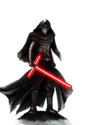 Star Wars - Kylo Ren by KaeltheArchon