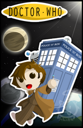 Doctor Who poster thing by SelanPike