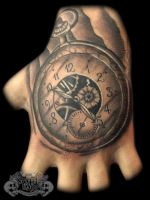 Pocketwatch by state-of-art-tattoo