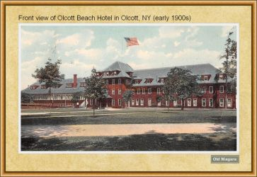Olcott Beach Hotel Front View by Niagara14301
