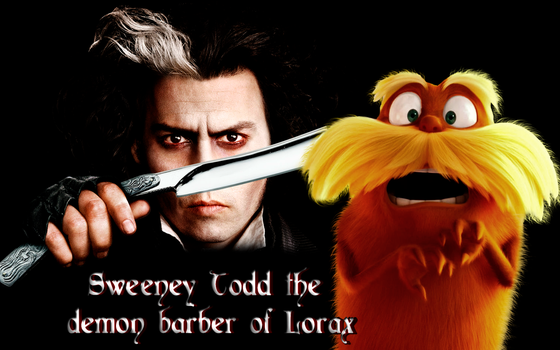 Wallpaper Sweeney Todd barber and lorax by jsousa10