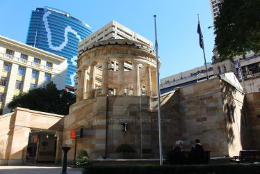 ANZAC square monument by legend3459