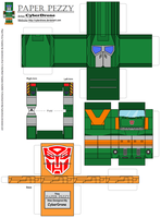 Paper Pezzy- Hoist 'G1' by CyberDrone