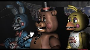 FNaF 2 Stage Remake [SFM] by TimmyHeadNoseDeviant