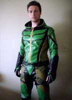 Smallville Green Arrow cosplay by TimDrakeRobin