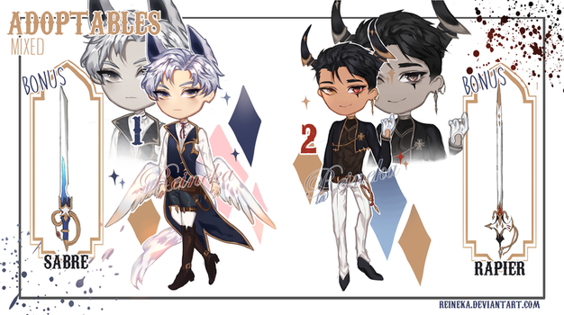 [Closed][Mixed Adopts - First Batch ] Auction by Reineka