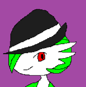 Gardevoir in a Fedora Profile Pic by SUPER-NINJA14