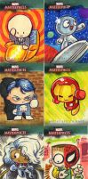 Marvel Masterpieces 3 by JeffVictor