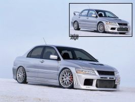 Lancer EVO Modified by nouseforaname