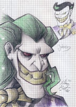 The Batman - Joker +notepad+ by kotaro91